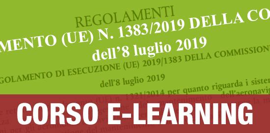 Corso sul Regolamento 1383 2019 E-learning