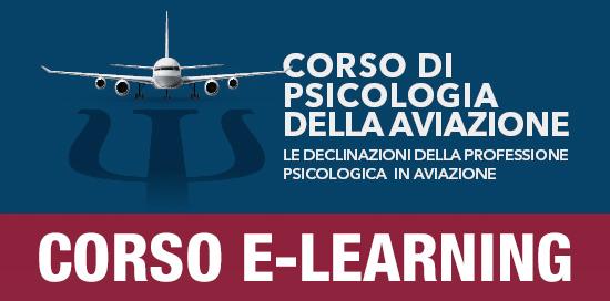 Icona del Corso in Psicologia dell'aviazione E-learning