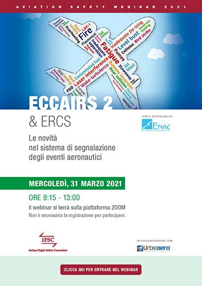 Locandina leaflet ECCAIRS 2 & ERCS